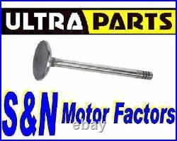 10 x Exhaust Valves fit Alfa Romeo 147 156 159 Brera Spider 2.4 JTD 20v UV171049