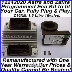 12242020 Vauxhall Opel Astra / Zafira Plug & Play Ecu Set Z16XE, 1.6 16valve
