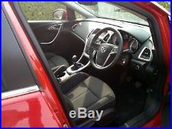 2014 Vauxhall Astra 1.4 sri turbo VVT 16valve