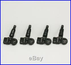 4 x black tpms sensors fits vauxhall astra j sports tourer 2014-2015 tyre sensor