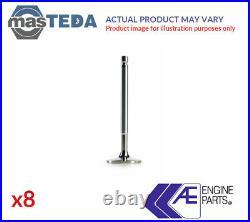 8x AE ENGINE EXHAUST EX VALVE V94250 G FOR VAUXHALL ASTRA IV, VECTRA, ZAFIRA I