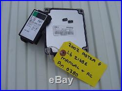 Astra 1.6 Ecu Kit Drtj 09353509 + Pin Code. 8v Opel Z16se 8 Valve Vauxhall