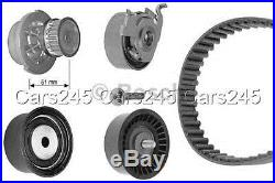 BOSCH Timing Cam Belt Kit + Water Pump Fits Vauxhall Astra 1.4-1.6L 1998-2005