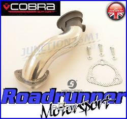Cobra Astra VXR H De-cat Downpipe 2.5 Stainless Pre-Cat Exhaust 1st DeCat VX01c