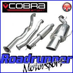 Cobra Sport Astra GSi MK4 3 Turbo Back Exhaust System Resonated & De Cat VZ03c