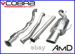 Cobra Sport Astra G Coupe Turbo 3.0 Non Res Full Exhaust with Sport Cat VZ10B
