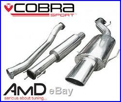 Cobra Sport Astra G Coupe Turbo Cat Back Exhaust System 2.5 Resonated Stainless
