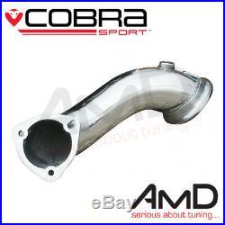 Cobra Sport Astra G GSi Turbo Precat Delete 2.75 Downpipe Decat Exhaust VX02b