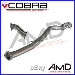 Cobra Sport Astra J GTC 1.6T Pre Cat Delete Second Decat Downpipe and Decat