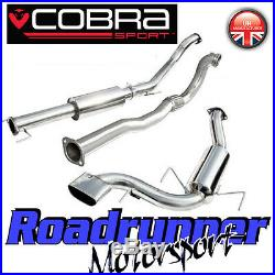 Cobra Sport Astra VXR MK5 3 Turbo Back Exhaust System Resonated & De Cat VZ07c