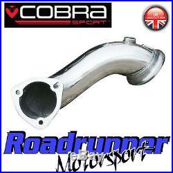 Cobra Sport Astra VXR MK5 Pre Cat De-Cat Downpipe Exhaust 2.75 Delete Pipe New