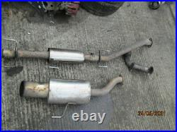 Cobra Sport Astra mk5 1.6T Decat Downpipe Exhaust System back box Stainless