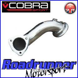 Cobra Sport VX220 Turbo Stainless De-Cat Pipe Exhaust Pre Cat Downpipe 2.5
