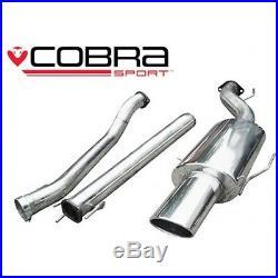 Cobra Sport VX78 Vauxhall Astra H Hatch 1.9CDTI NON resonated cat back exhaust