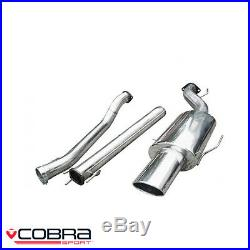 Cobra Sport Vauxhall Astra G Coupe Turbo Cat Back Exhaust (2.5/N) VX61