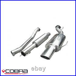 Cobra Sport Vauxhall Astra G Coupe Turbo Cat Back Exhaust (3/R) VZ02g