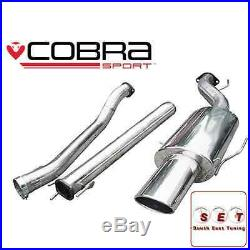 Cobra Sport Vauxhall Astra G GSI Non Resonated Cat Back Exhaust 2.5