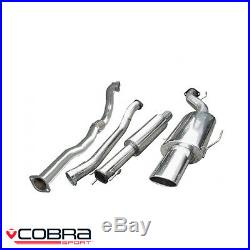 Cobra Sport Vauxhall Astra G GSI Turbo Back Exhaust (D/R) VZ03c