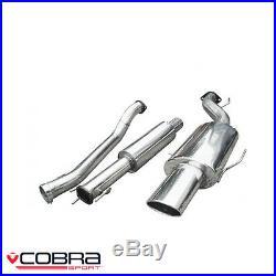 Cobra Sport Vauxhall Astra H 1.4/1.6/1.8 Cat Back Exhaust (R) VX76