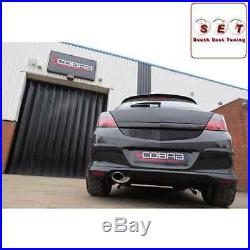 Cobra Sport Vauxhall Astra H 1.9 CDTi Non Res Cat Back Exhaust 2.5