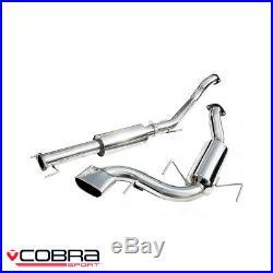 Cobra Sport Vauxhall Astra H VXR 2.0 Turbo Cat Back Exhaust (2.5/R) VX72