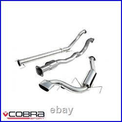 Cobra Sport Vauxhall Astra H VXR 2.0 Turbo Full Exhaust System (S/N) VZ07b