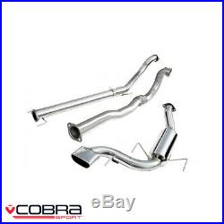 Cobra Sport Vauxhall Astra H VXR 2.0 Turbo Turbo Back Exhaust (D/N) VZ07d