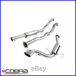 Cobra Sport Vauxhall Astra H VXR 2.0 Turbo Turbo Back Exhaust (D/R) VZ07c
