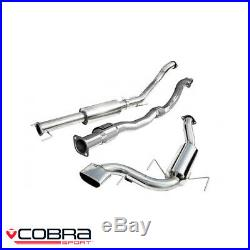 Cobra Sport Vauxhall Astra H VXR 2.0 Turbo Turbo Back Exhaust (S/R) VZ07a