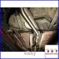 Cobra Sport Vauxhall Astra H VXR Non Resonated Cat Back Exhaust 3