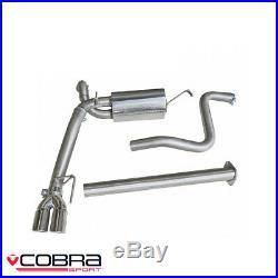 Cobra Sport Vauxhall Astra J 1.6 Turbo Cat Back Exhaust (N) VX32