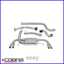 Cobra Sport Vauxhall Astra J VXR 2.0T Full System Sports Cat Non Res VX25bTP28