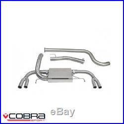 Cobra Sport Vauxhall Astra J VXR 2.0 Turbo Cat Back Exhaust (N) VX23TP28