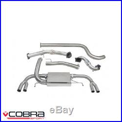 Cobra Sport Vauxhall Astra J VXR 2.0 Turbo Turbo Back Exhaust (S/N) VX25bTP28