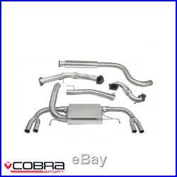 Cobra Sport Vauxhall Astra J VXR 2.0 Turbo Turbo Back Exhaust (S/R) VX25aTP28