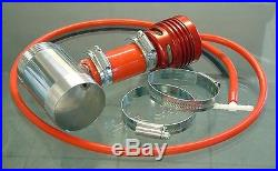 Collins Vauxhall Astra H 05-10 VXR Turbo Red Dump Valve and Fitting Kit