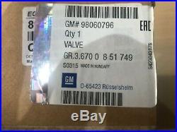Egr Valve Fits Vauxhall Astra G H 1.7 Cdti Genuine Oe 98060796