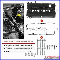 Engine Valve Cover & Gasket for Opel Vauxhall Astra H Zafira B Vectra C 1.6 1.8
