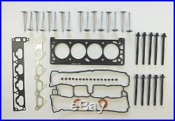 For Vauxhall Opel Zafira A 1.8 Head Gasket Set Bolts 8 Inlet 8 Exhaust Valves