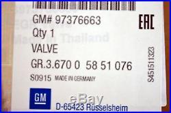 Genuine Vauxhall 1.7 Diesel Egr Valve Astra Meriva Corsa Zafira Gm New 97376663