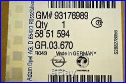 Genuine Vauxhall Astra Frontera Signum Vectra Zafira Gm New 93176989