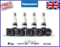 Hamaton Tpms Tyre Pressure Valve Sensors X4 Vauxhall