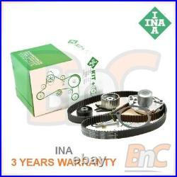 Ina Heavy Duty Timing Belt Kit Cambelt & Water Pump Set Opel Vectra C