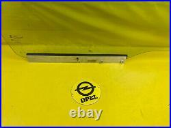 New + Original Opel Astra G Disc Door Front Right Door Glass Window Glass