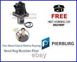 Pierburg New EGR Valve for Vauxhall Astra MK6 J 1.6 CDTi + BiTurbo B16 2013On
