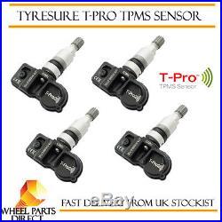 TPMS Sensors (4) Tyre Pressure Valve Vauxhall Astra J Sports Tourer 10-14