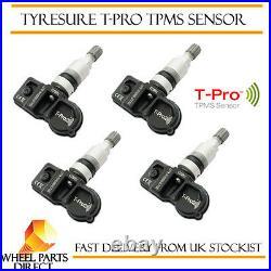 TPMS Sensors (4) Tyre Pressure Valve Vauxhall Astra J Sports Tourer 14-EOP