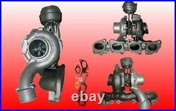 Turbolader Fiat Croma II Saab 9-3 1.9JTD 1.9TiD 110Kw 755046 inkl. Dichtungssatz