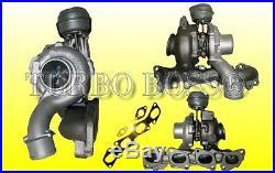 Turbolader Opel Astra H Vectra C Zafira B 1.9CDTI 110Kw 755046 inkl. Dichtungen