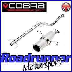 VA16 Cobra Astra G Coupe 1.4 1.6 1.8 2.0 2.2 Exhaust System Stainless Non Res
